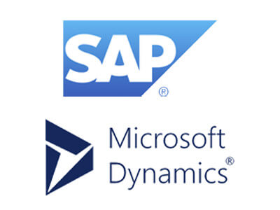 SAP and Microsoft Dynamics logos
